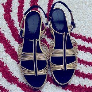 Zara sandals, size 40 (fits 8.5)